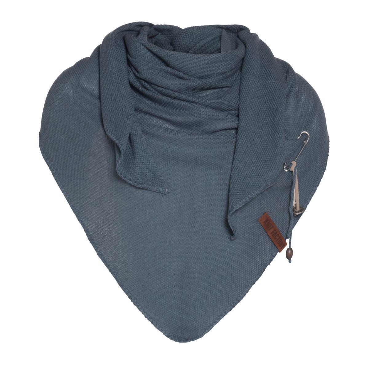 lola triangle scarf granit