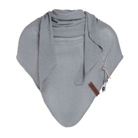 Lola Triangle Scarf Light Grey