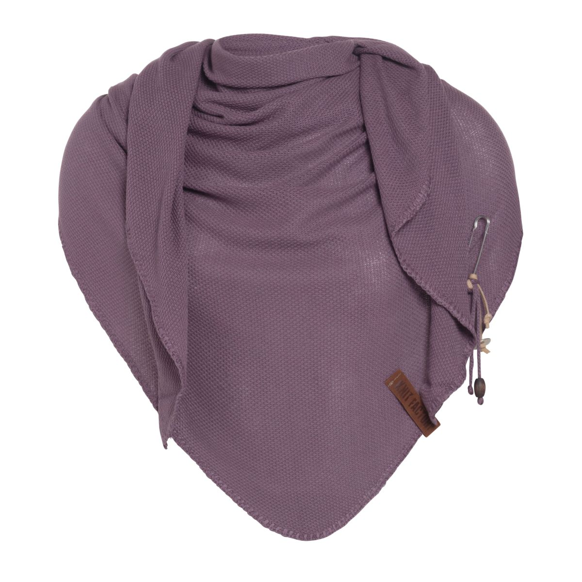 lola triangle scarf lilac