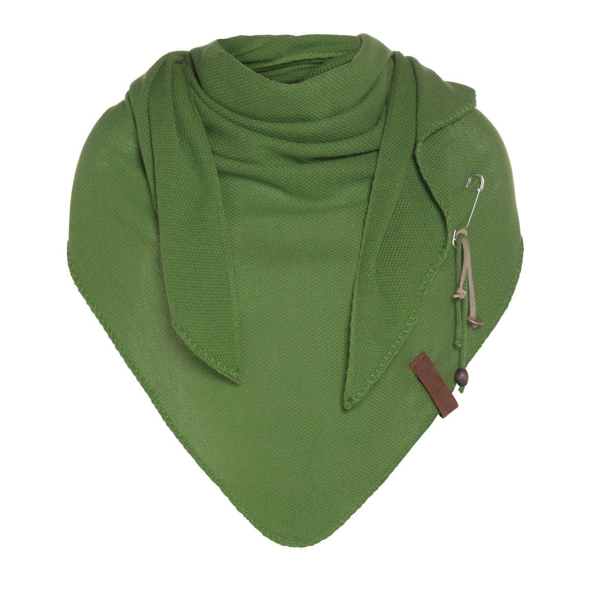 lola triangle scarf lime