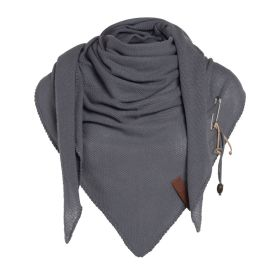 Lola Triangle Scarf Med Grey