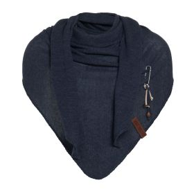 Lola Triangle Scarf Navy