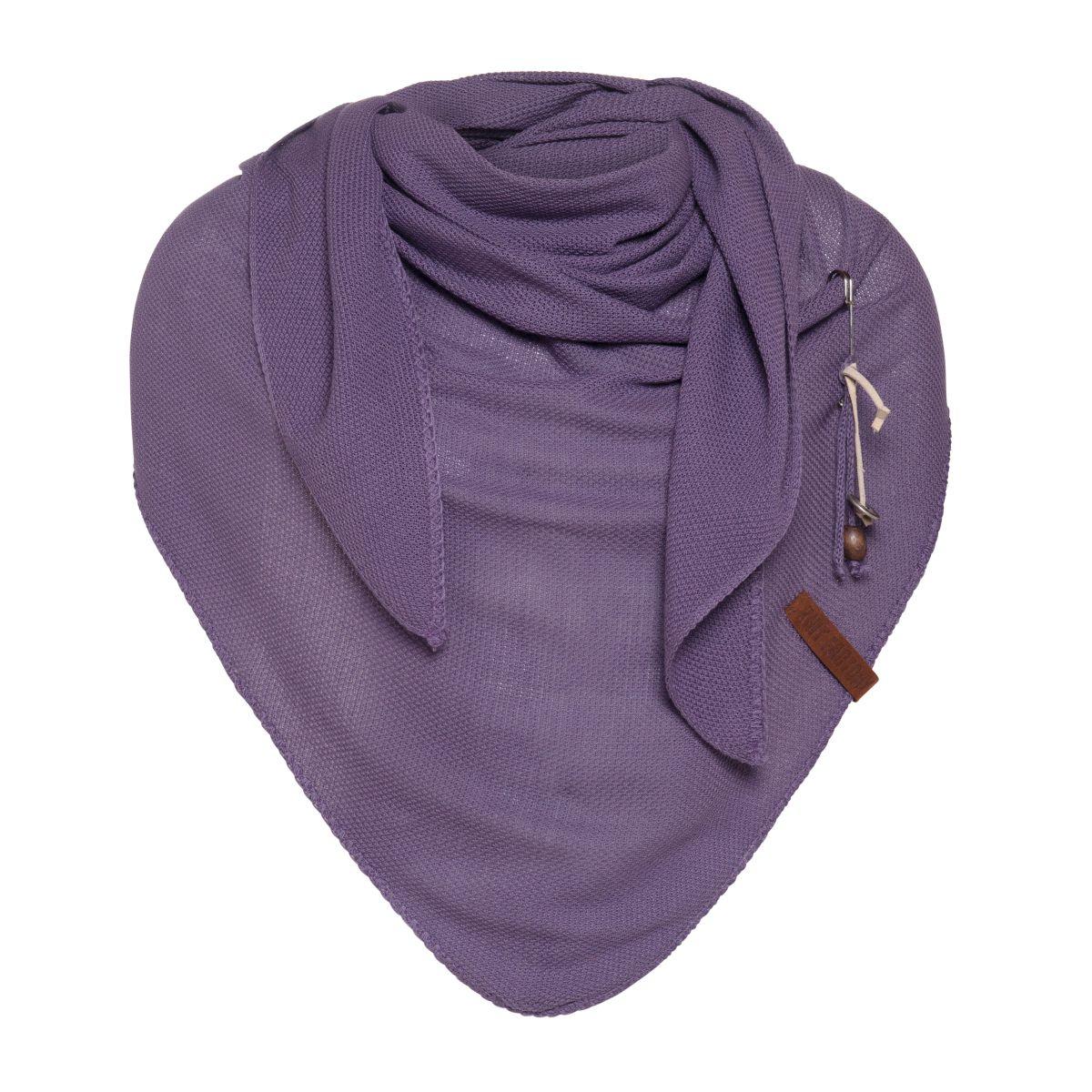 lola triangle scarf violet