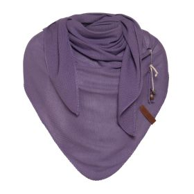 Lola Triangle Scarf Violet
