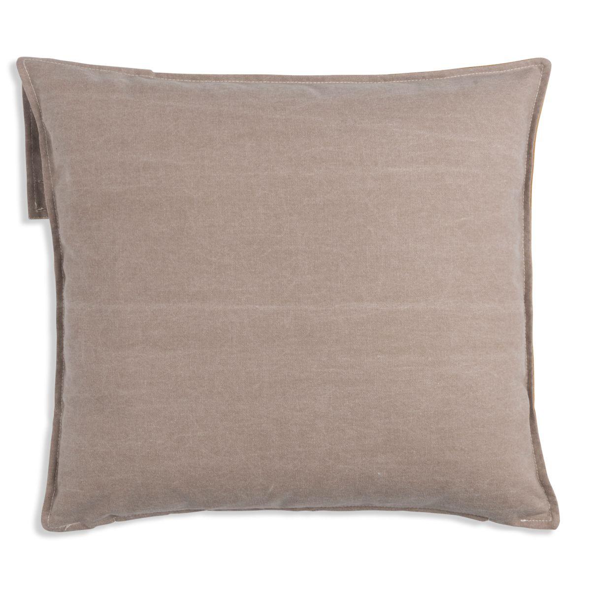 luc cushion taupe 50x50