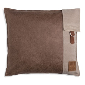 Luc Kussen Taupe - 50x50