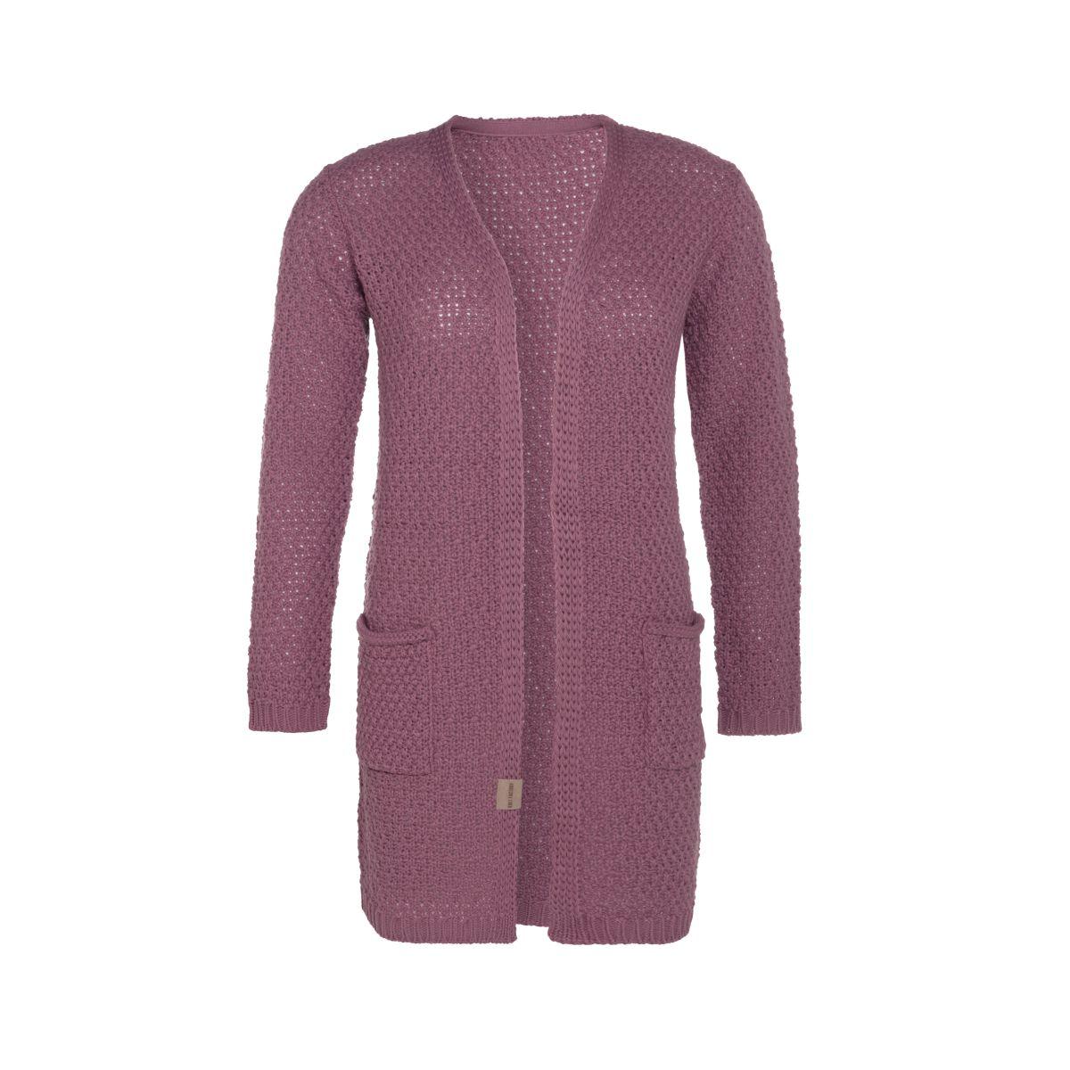 knit factory kf13308102749 luna vest lila 3638 1