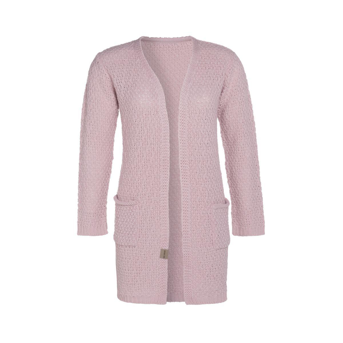 knit factory kf13308102149 luna vest roze 3638 1