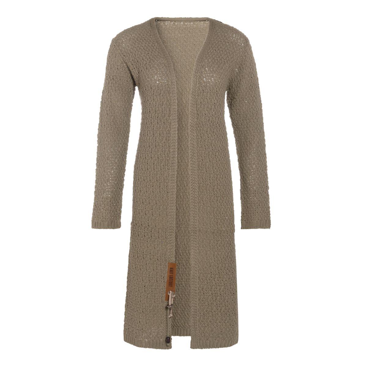 knit factory 1336233 luna vest 3638 olive 1
