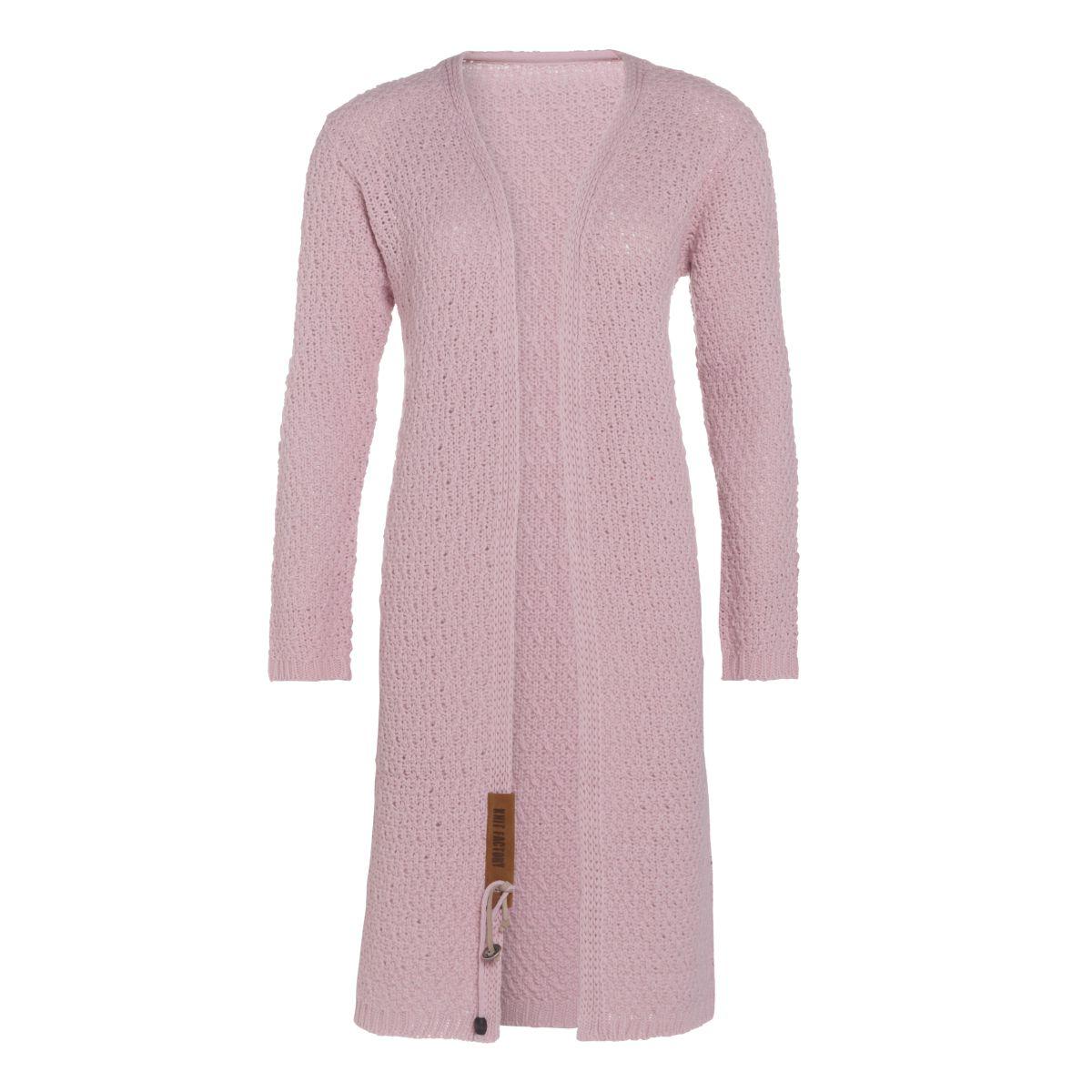 knit factory 1336321 luna vest 4042 roze 1