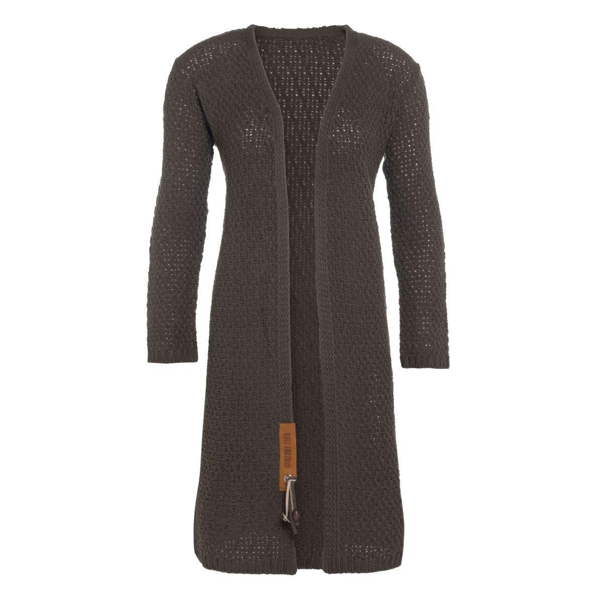 knit factory kf13308202949 luna vest taupe 3638 1