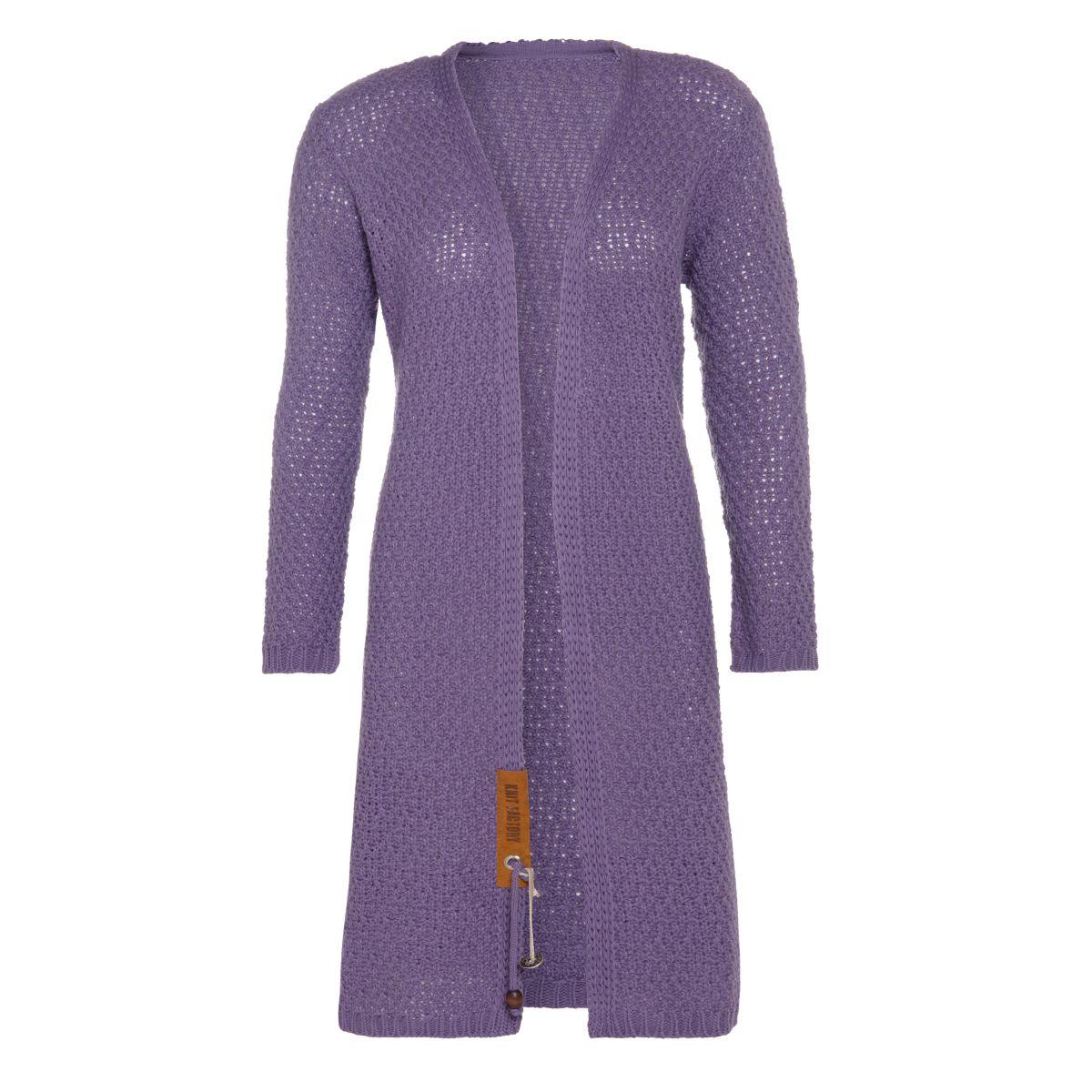 knit factory kf13308204349 luna vest violet 3638 1