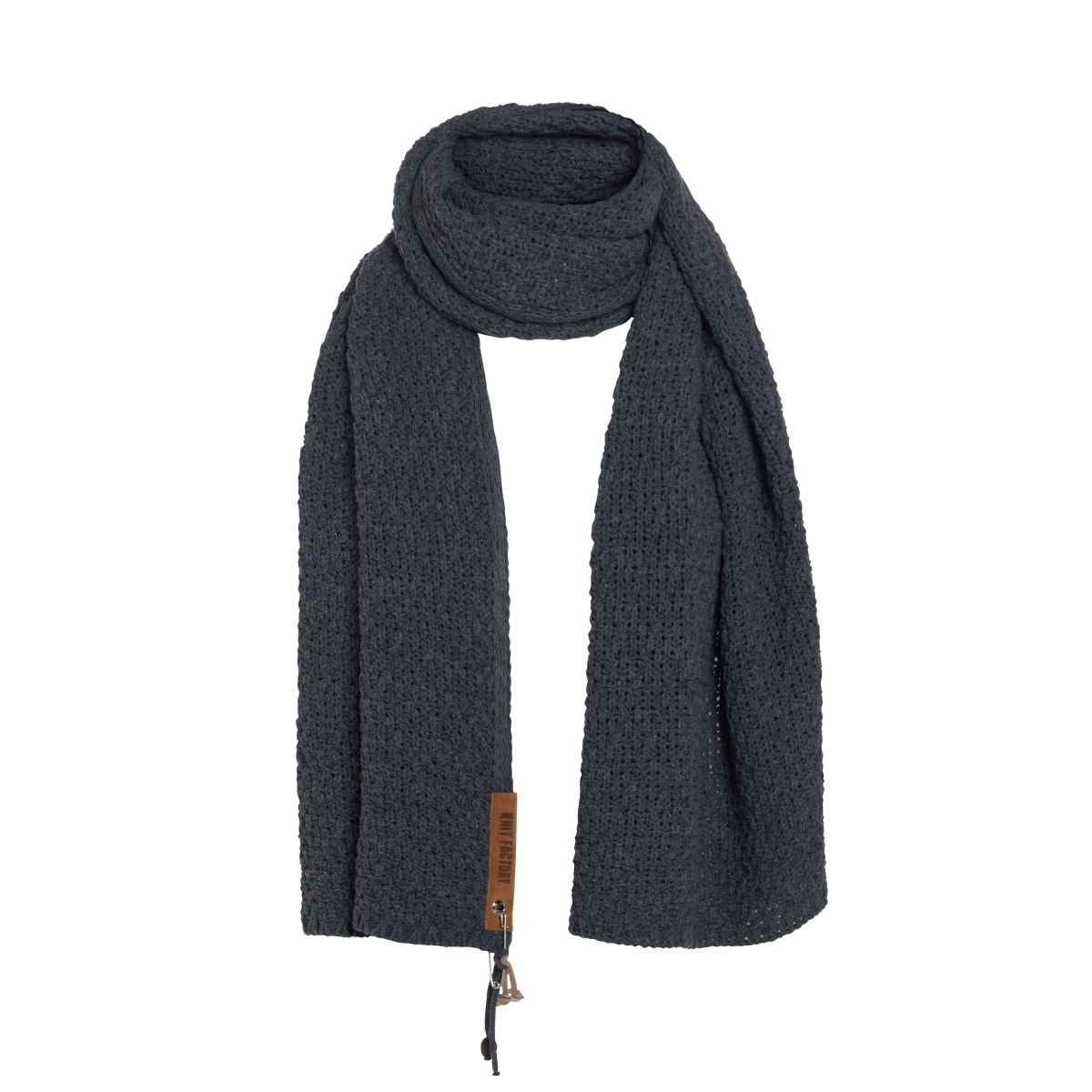 luna scarf anthracite