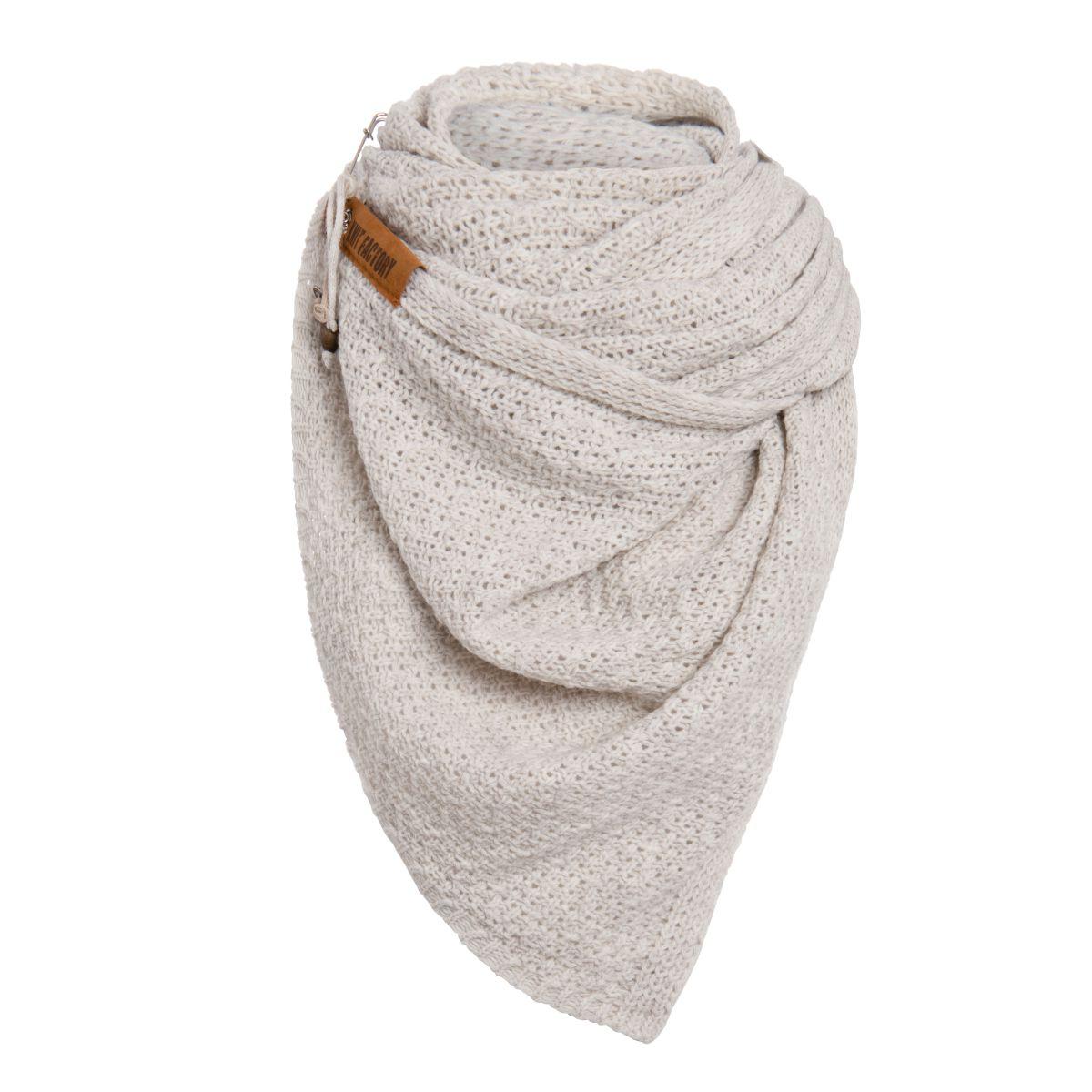 luna scarf beige