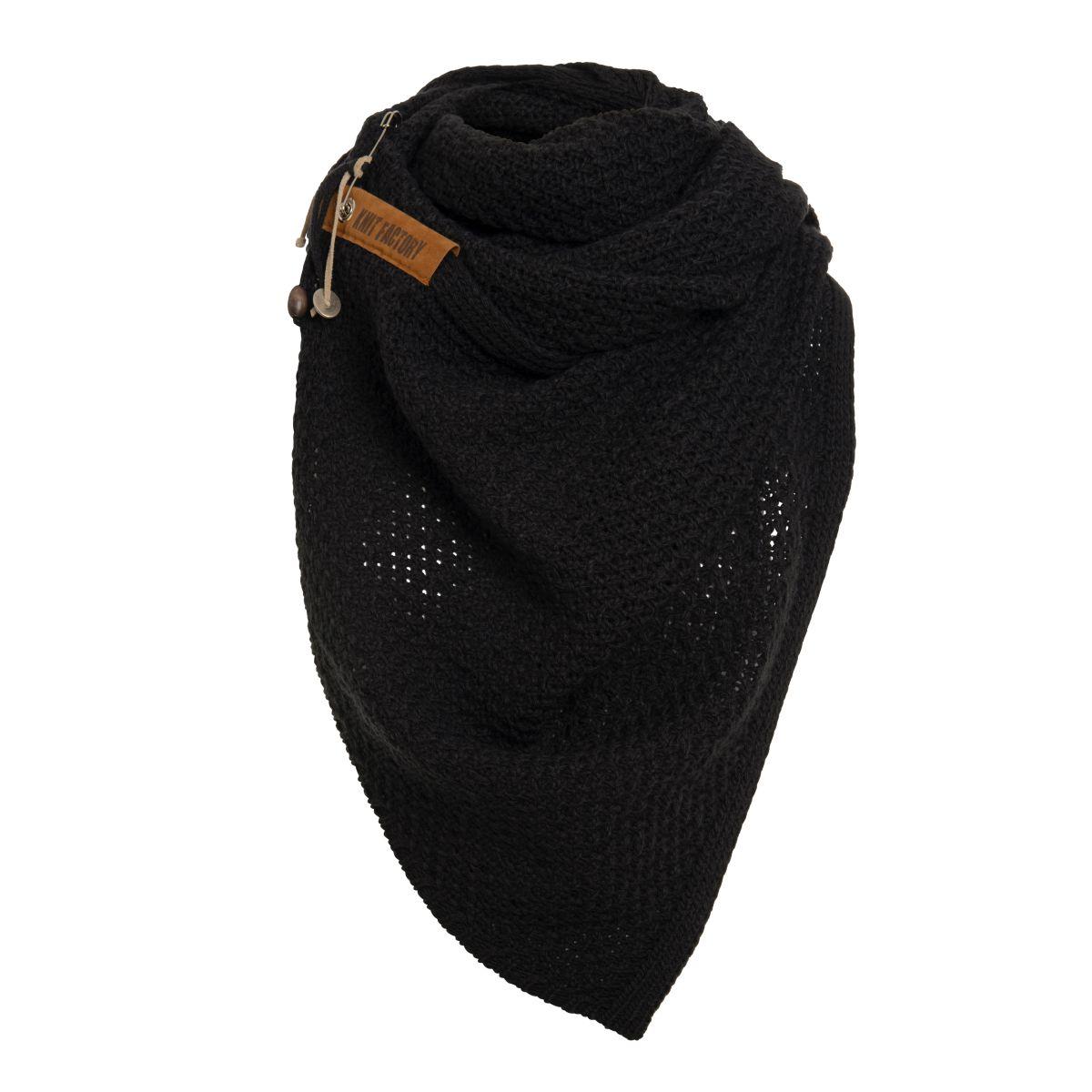 luna scarf black