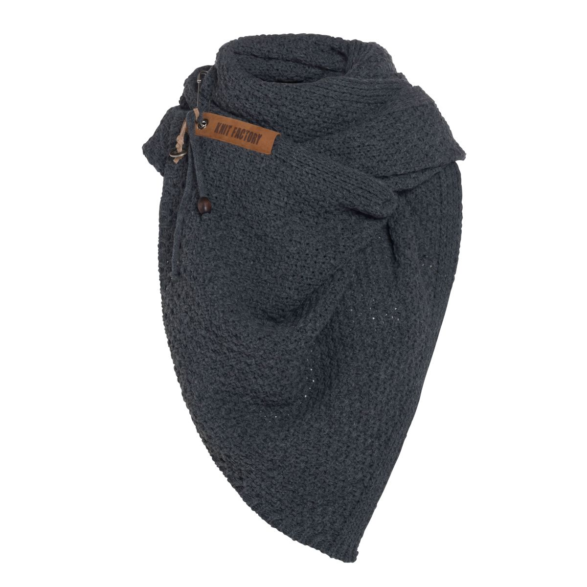 luna scarf khaki