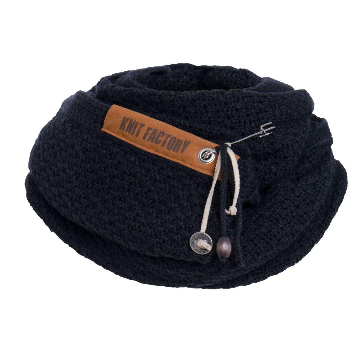 luna scarf navy