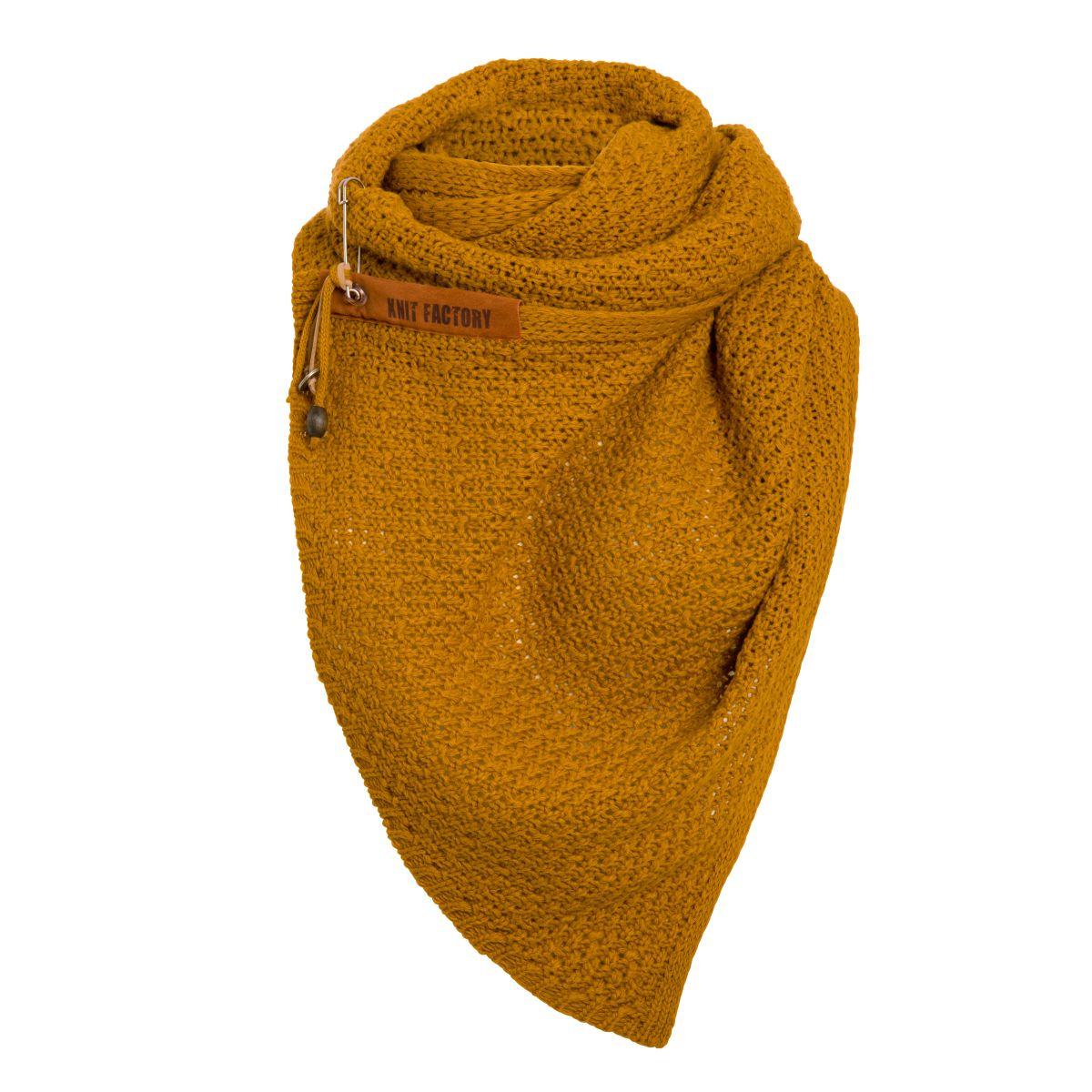 luna scarf ochre