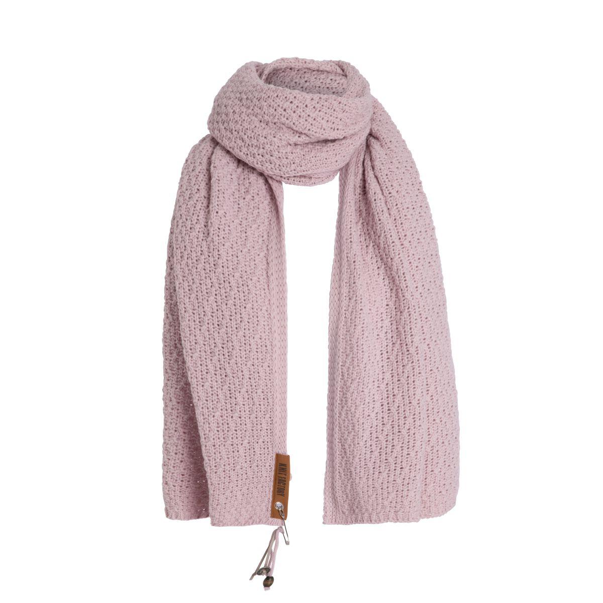 luna scarf pink