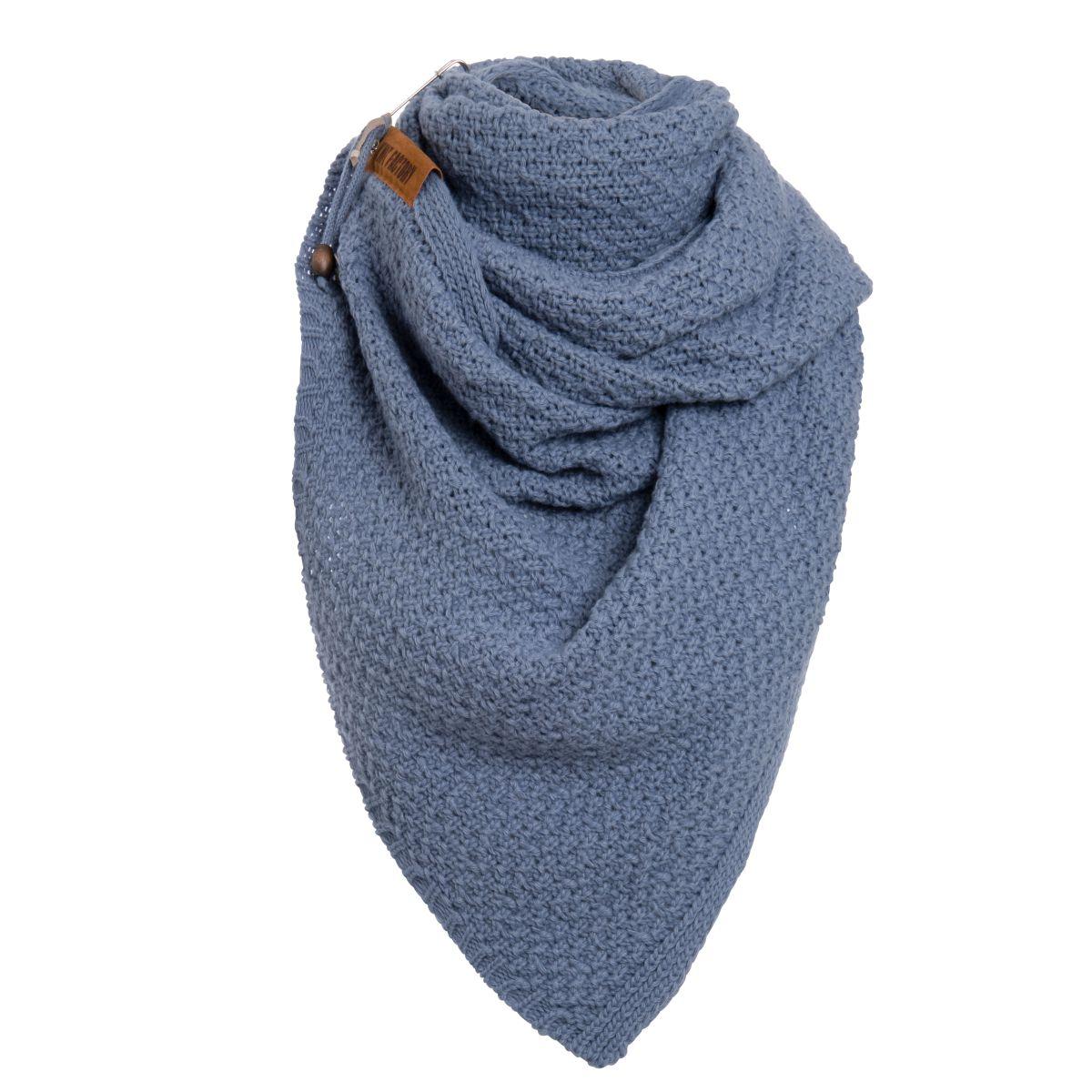 knit factory 1336532 luna sjaal indigo 2