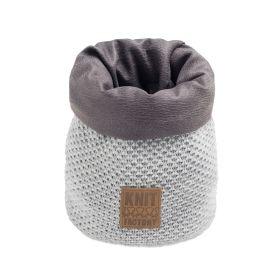 Lynn Basket Light Grey - 25 cm