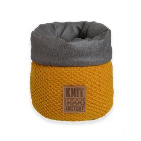 Lynn Basket Ochre - 25 cm