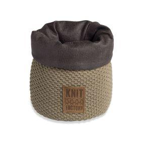 Lynn Basket Olive - 25 cm