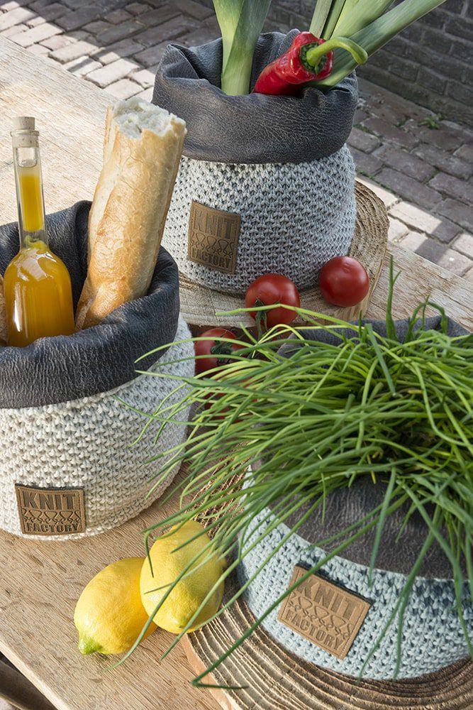 lynn basket olive 25 cm