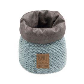 Lynn Basket Stone Green - 25 cm