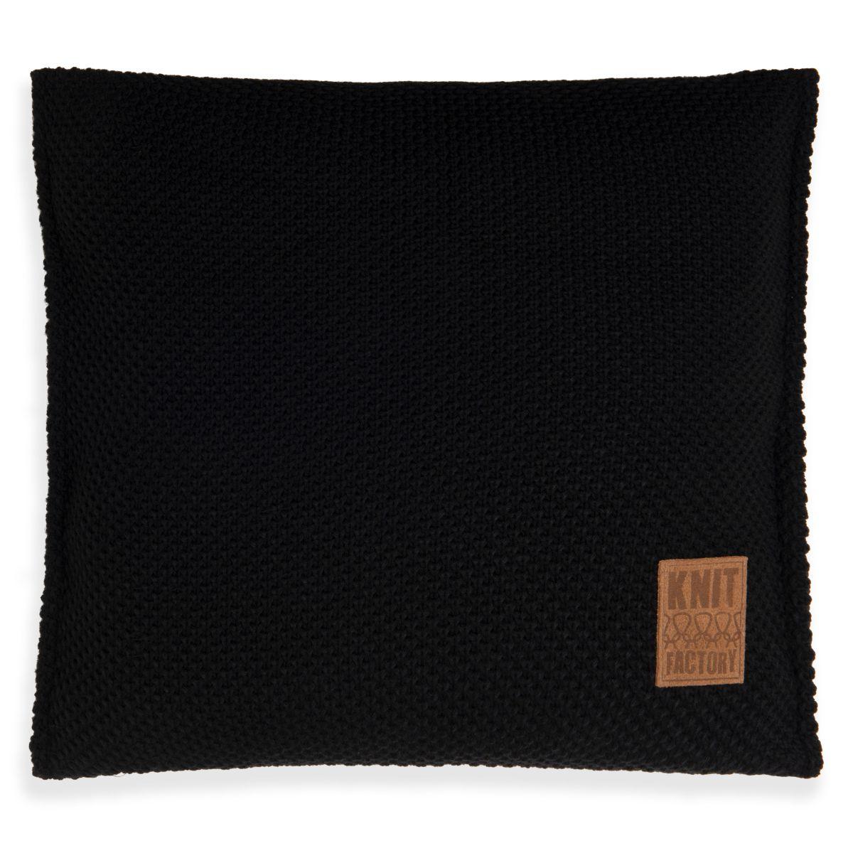 lynn cushion black 50x50