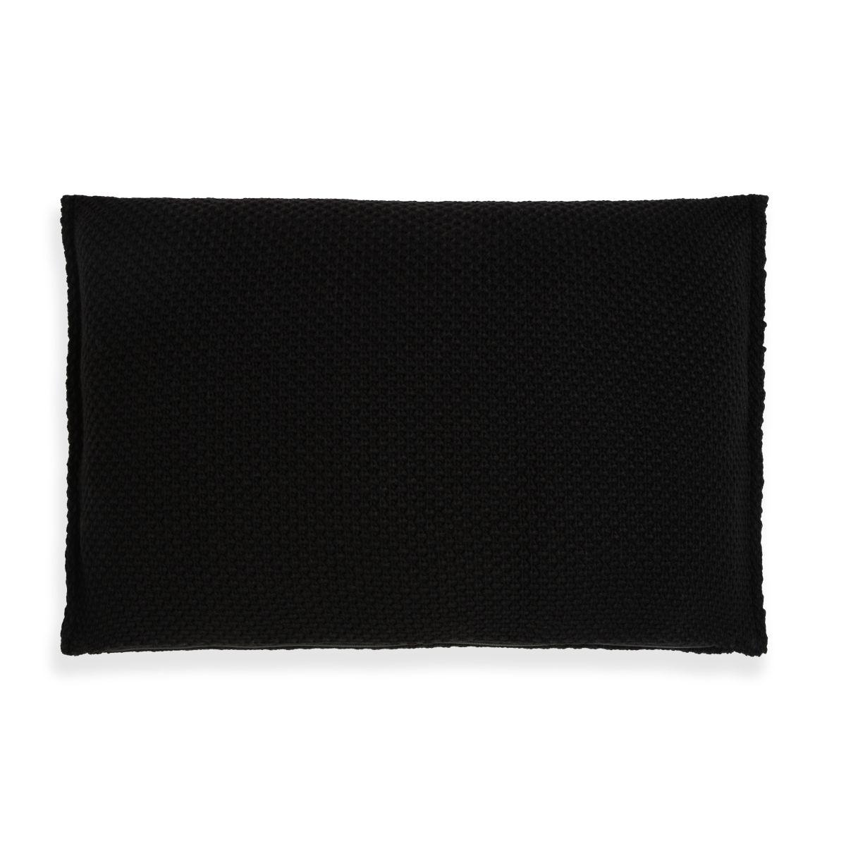 lynn cushion black 60x40