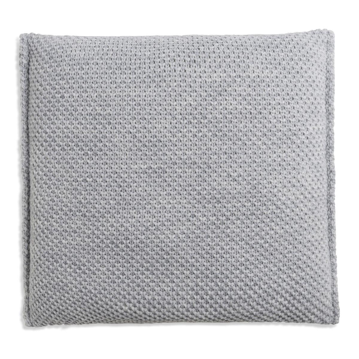 lynn cushion light grey 50x50