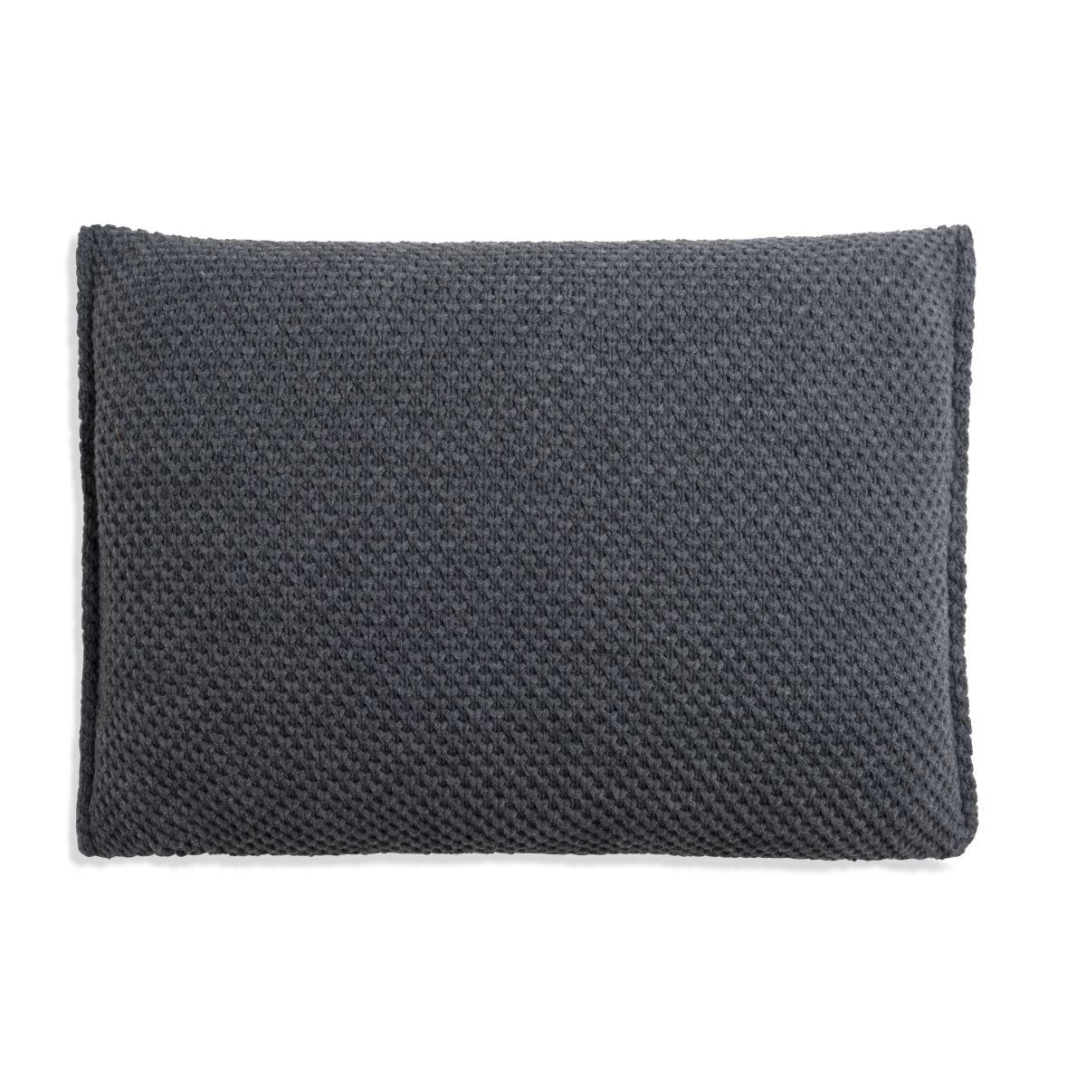 knit factory 1181310 kussen 60x40 lynn antraciet 2