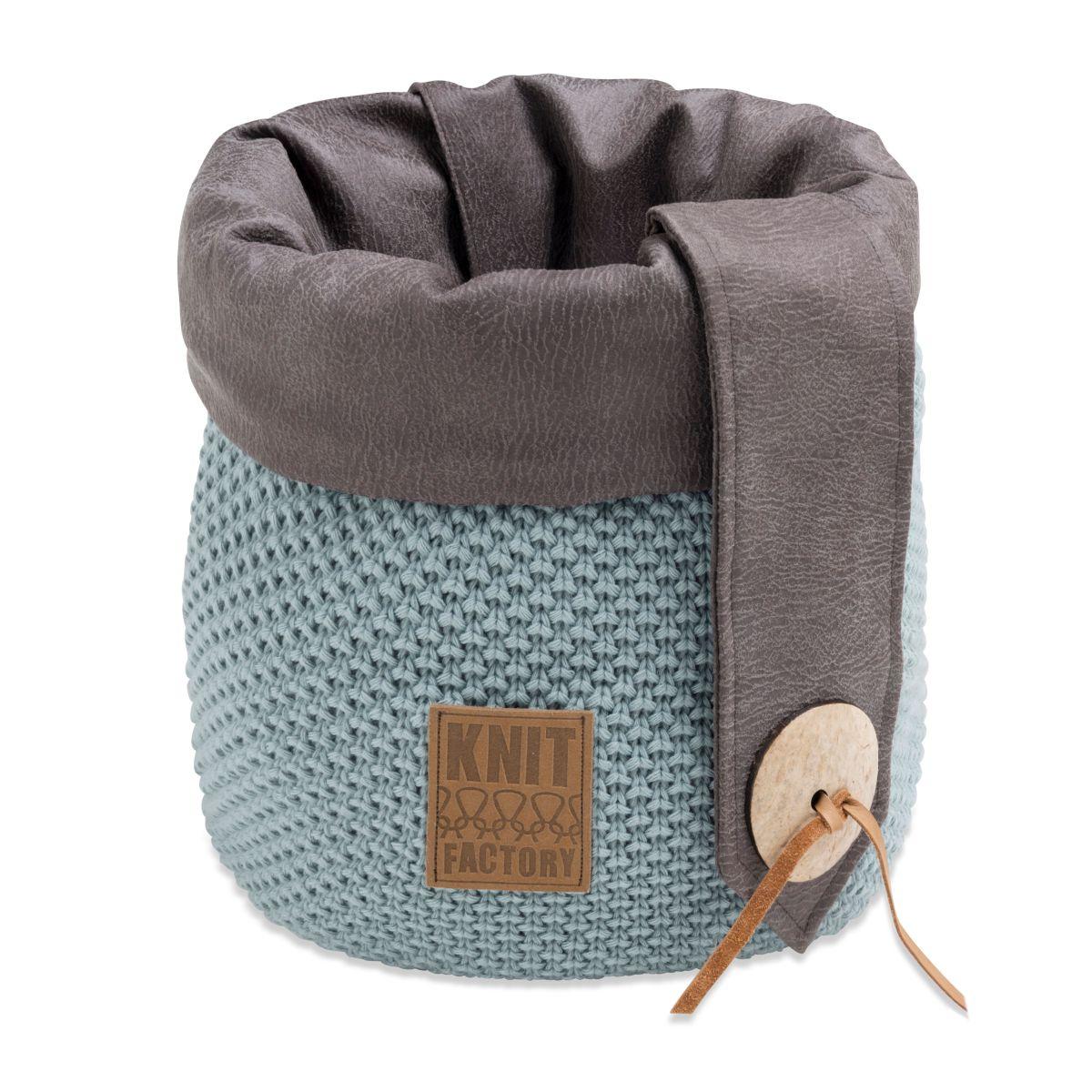 knit factory 1182309 mand groot lynn stone green