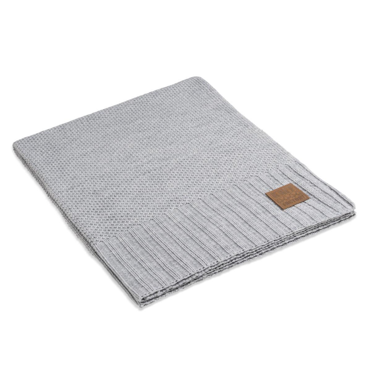 knit factory 1181111 plaid lynn licht grijs