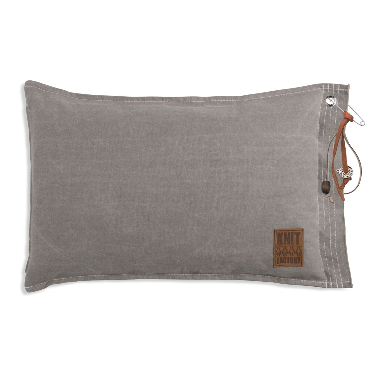 knit factory 1061309 mara kussen60x40 stone green 1