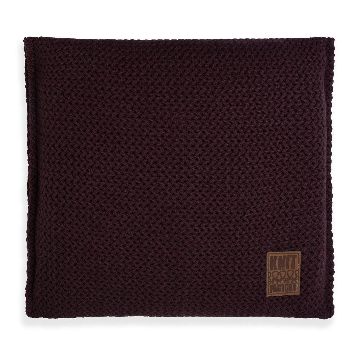 maxx cushion aubergine 50x50