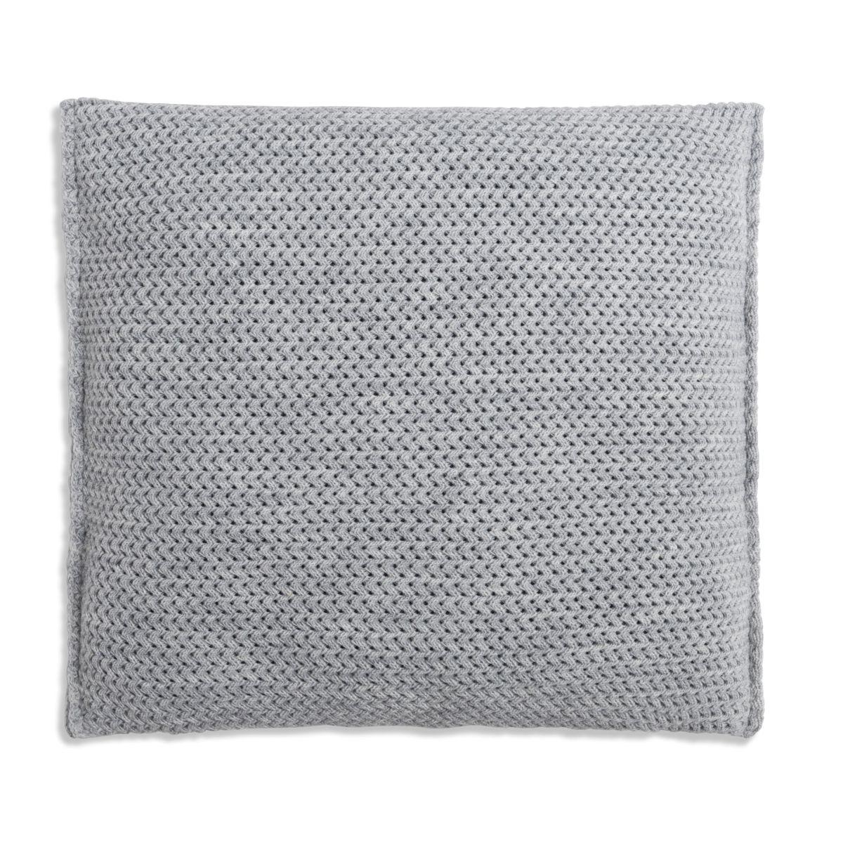 knit factory 1211211 kussen 50x50 maxx licht grijs 2