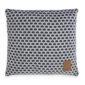 Mila Cushion Anthracite/Light Grey - 50x50