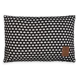 Mila Cushion Beige/Black - 60x40