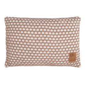 Mila Cushion Beige/Marron - 60x40