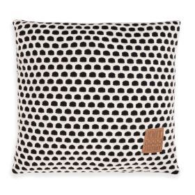 Mila Cushion Black/Beige- 50x50