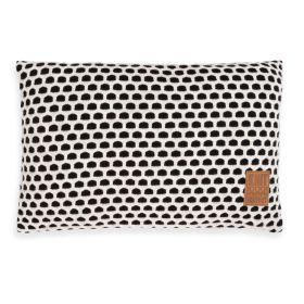 Mila Cushion Black/Beige - 60x40