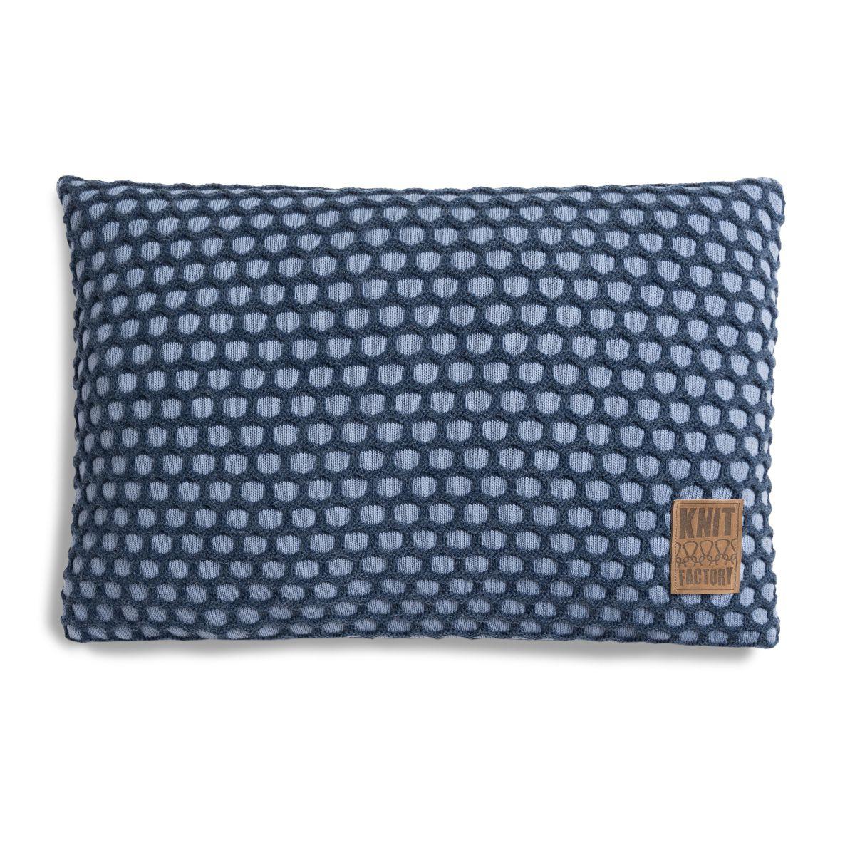 knit factory 1081355 kussen 60x40 mila indigo jeans 1