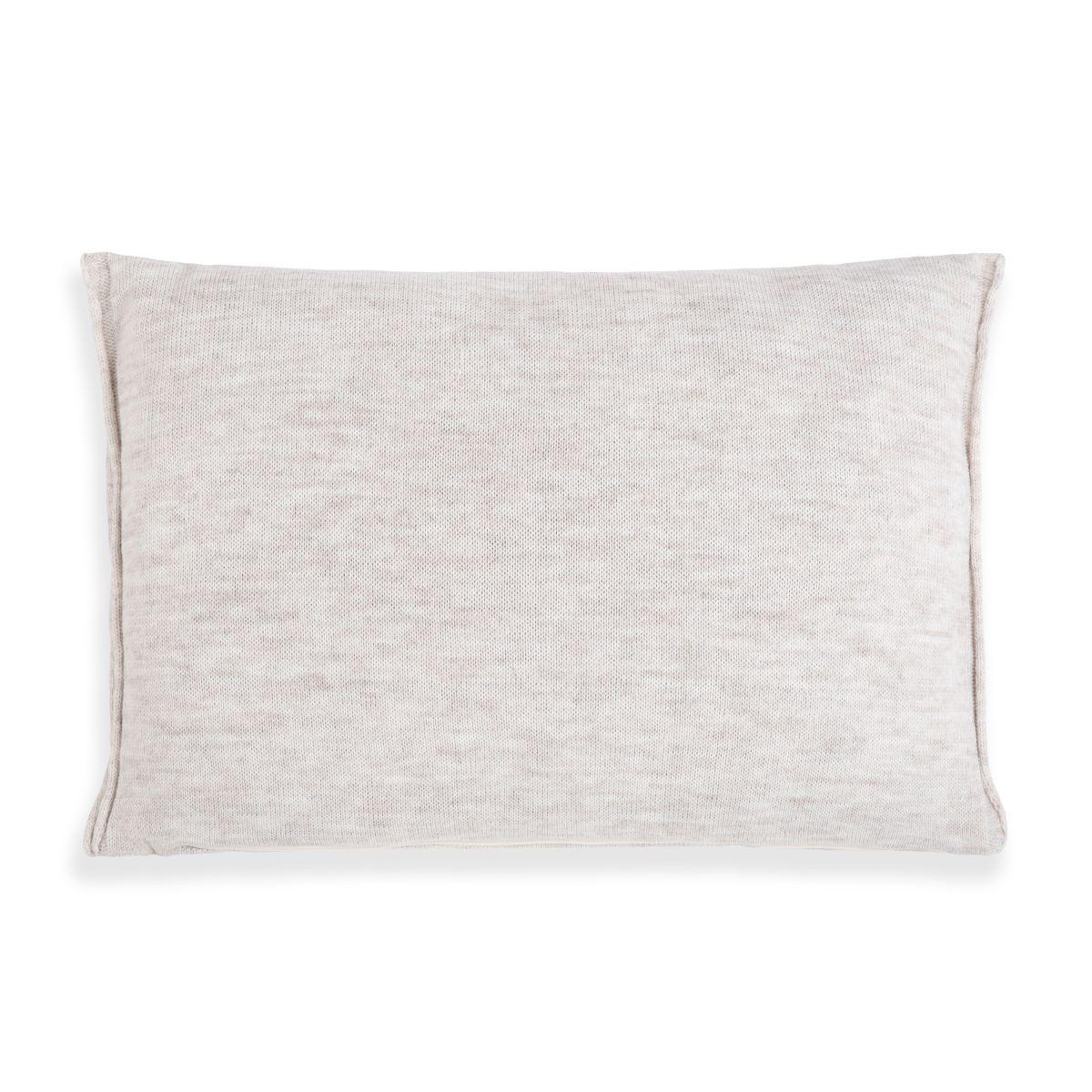 knit factory 1071312 kussen 60x40 noa beige 2