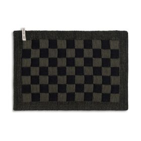 Placemat Block Black/Khaki