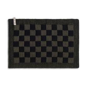 Placemat Block Black/Khaki