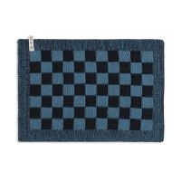 Placemat Block Black/Ocean