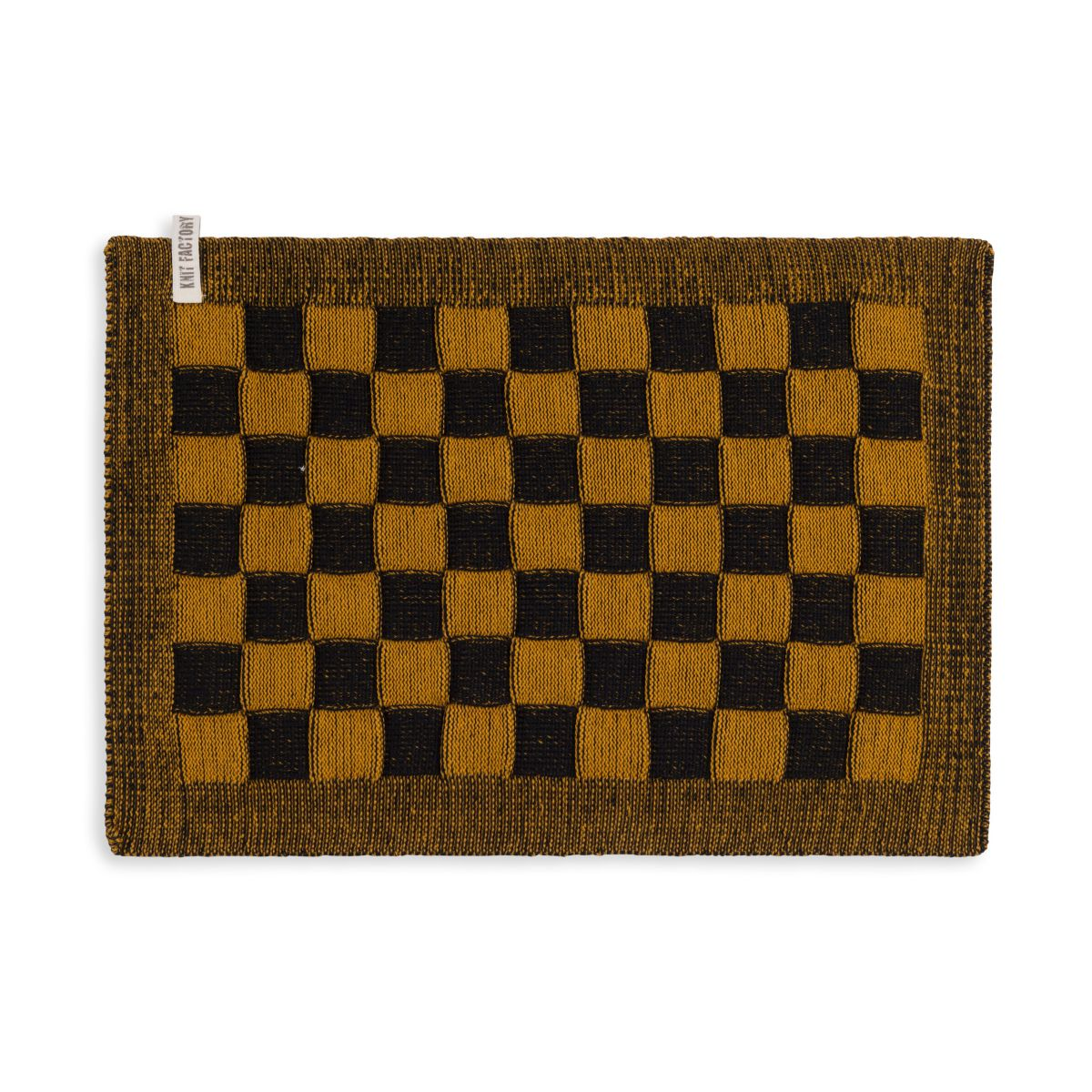 placemat block blackochre