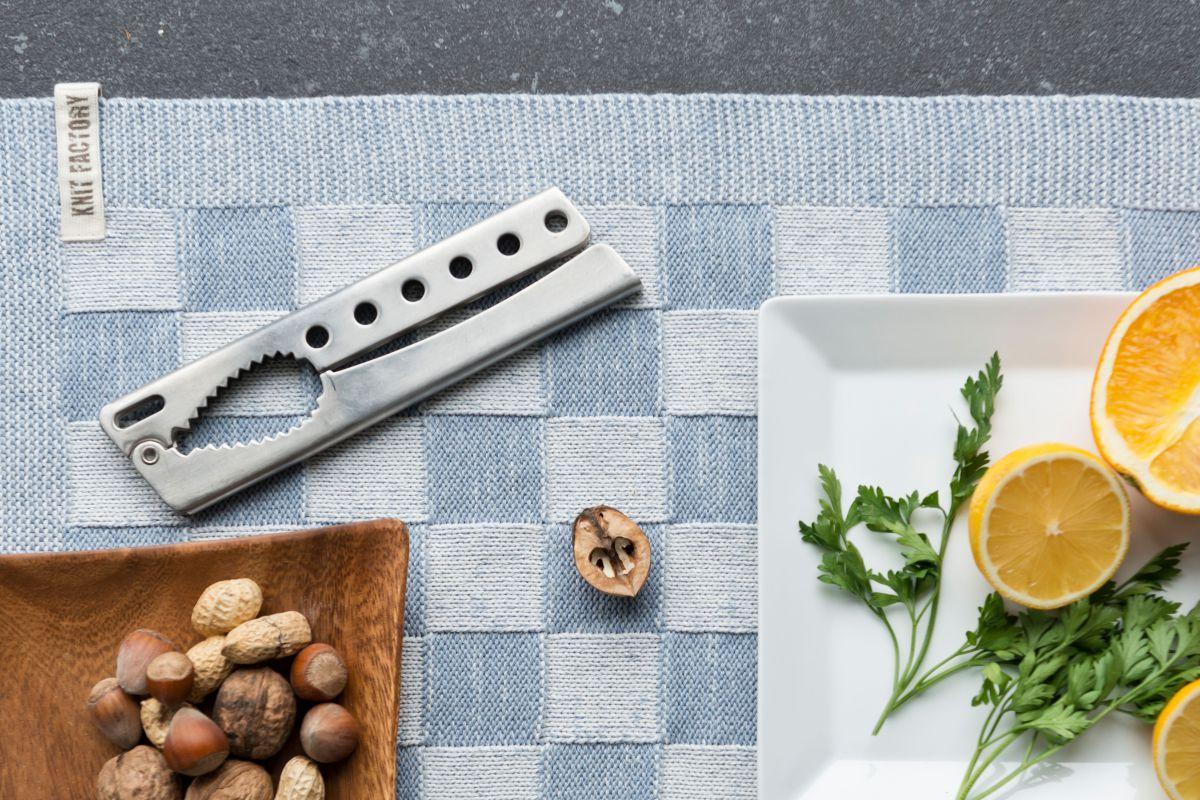20102 knit factory placemat grote blok 2 kleuren ecru 8